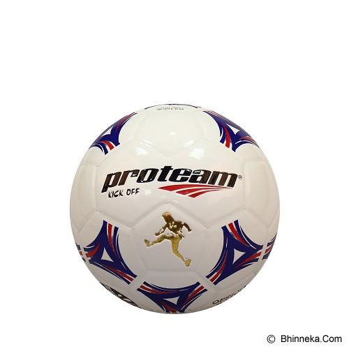 PROTEAM Bola Soccer Size 5 [Kick Off] - Blue/Red - Bola Sepak / Soccer Ball